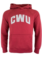 CWU Ladies Crimson Hood