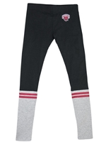 CWU Black & Gray Leggings