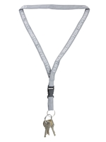 Gray Central Washington University Lanyard