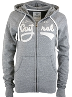 Central Ladies Gray Full Zip