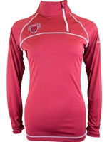 CWU Ladies Crimson 1/4 Zip