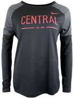 Central Ladies Nike Long Sleeve
