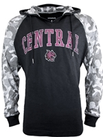 Central Hood Black with Camo Sleeves