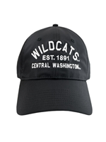 Black Adjustable Wildcats Hat