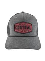Graphite Crown Central Patch Legacy Hat
