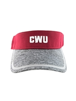 New Era CWU Crimson Visor