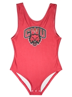 Ladies Crimson CWU Bodysuit