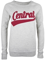 Central Ladies Crew Neck Sweatshirt