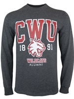 CWU Alumni Long Sleeve Tshirt