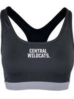Ladies Central Wildcats Nike Sports Bra