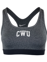 Ladies CWU Gray Nike Sports Bra