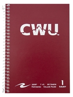 CWU Summit 1-Subject Spiral Notebook