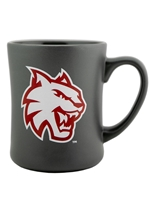 Central Wildcats Gray Matte Mug
