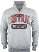 CWU Champion 1/4 Zip Sweatshirt