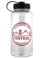 Central Wildcats 34oz Waterbottle