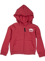 CWU Toddler Full Zip Sweatshirt