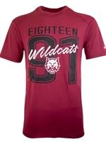 CWU Crimson Performance Tshirt