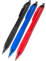 3-Pack Retractable Ballpoint Pens
