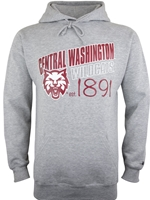Central Washington 1891 Gray Hood