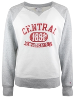 CWU Ladies Ivory Crew Neck Sweatshirt