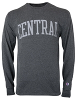Graphite Long Sleeve Central Tshirt