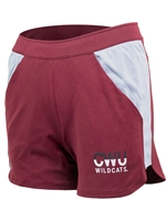 UA Ladies Crimson/Gray CWU Wildcats Short