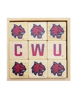 CWU Wooden Block Set