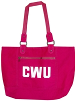 CWU Hot Pink Tote