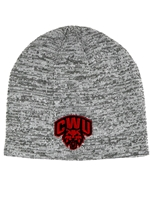CWU Classic Fit Gray Beanie