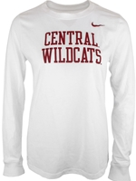 Central Ladies Nike Long Sleeve Tee