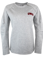 Ladies Gray Crew Neck Crim/CWU
