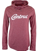 Ladies Crimson Columbia Funnel Neck Hood