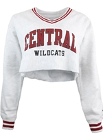 CWU Ladies Cut off Sweatshirt