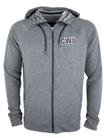 Lightweight Zip Up Sweatshirt