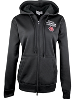 Ladies Black Full Zip