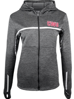 Ladies Columbia Black Static CWU Hood Full Zip