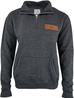 CWU Ladies Dark Charcoal 1/4 Zip