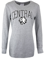 Ladies Gray Central Tunic