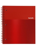 1 Subject Hamelin Graph Ruled Notebook