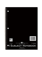 1 Subject Spiral Notebook -- Value