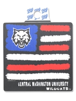 CWU Flag Decal