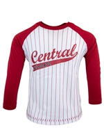 CWU Youth Baseball Stripe Tshirt