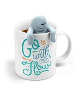 Go With The Flow Manatee Tea Set