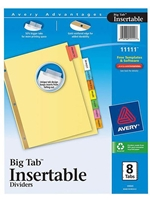 Avery Big Tab 8 Subject Dividers