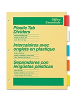 Avery Basic 5 Subject Dividers