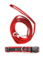 Woven CWU Pet Leash & Collar Set