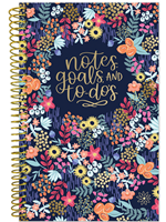 Floral Dots To Do Planning Notebook