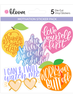 Motivational Sticker Set