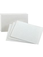 Graph Index Cards -- 3 x 5