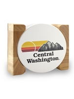 Central Wildcats Stone Coasters